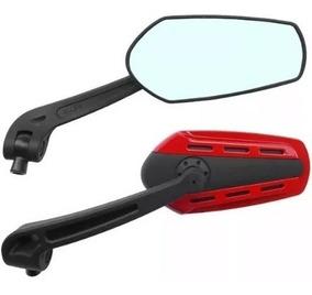 Espelho Retrovisor Esportivo Allen Universal Motos Dourado