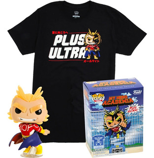 My Hero Academia Caja All Might Y Remera Talle L Funko