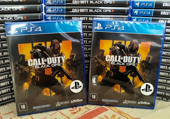 Call Of Duty Black Ops 4 Cod - Jogo Ps4 Mídia Física Dublado