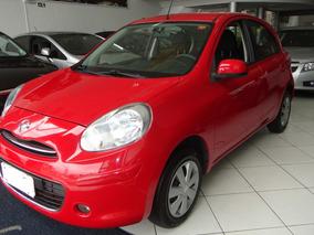 Nissan March 1.6 S 2014 Completo, Pneus Novos, Único Dono