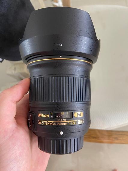 Lente Nikkor 24mm F 1.8 Ed