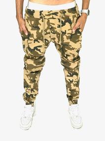 Calça Jogger Camuflada Militar Masculina Superpromoção