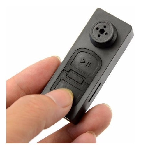 Boton Con Mini Camara Espia Oculta Video Y Foto Hd Hasta 32gb Spy De Gogo Electronics
