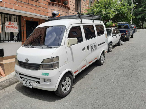 Vehiculo Chana Star Van 2 Modelo 2011 Motor 1300