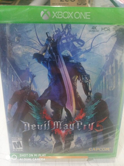 Jogo Devil May Cry 5 Xbox One Midia Fisica Português Novo
