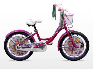 Bicicleta Playera Rodado 20 Nena Mujer Aluminio Full EquiPad