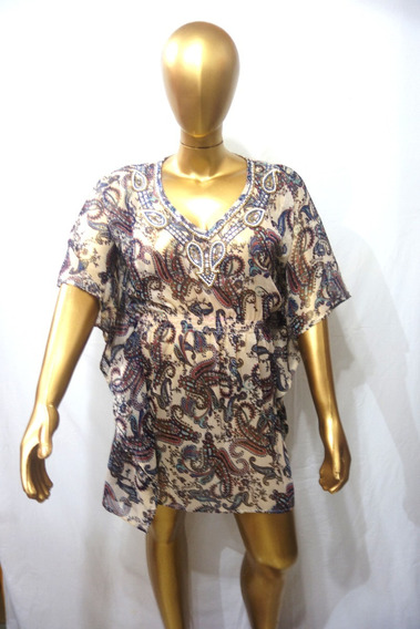 Blusa Avellana Estampadas Varios Modelos Y Colores