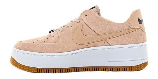 Zapatillas Nike Air Force 1 Low Beige - Mujer