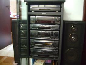 Conjunto De Som Sony Lbt-a495 Completo Mais Video Cassete