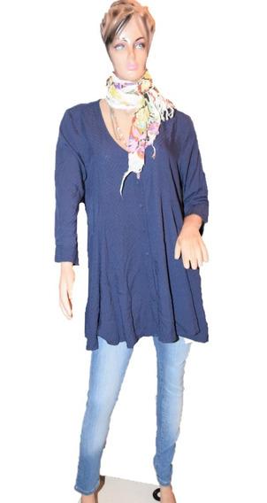 Cuesta Blanca Blusa Modelo Robbie Azul