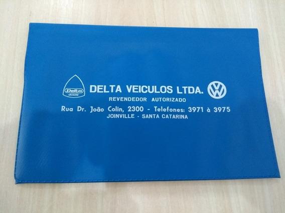 Capinha Manual Proprietário Concessionária Vw Delta Veículos