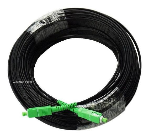 Fibra Óptica 175 Mts 1 Pelo 2 Pre Conectorizado Sc/apc 3m