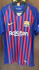 8516aabc6de Camisa Barcelona 18 19- Arthur Patches Uefa Champions League