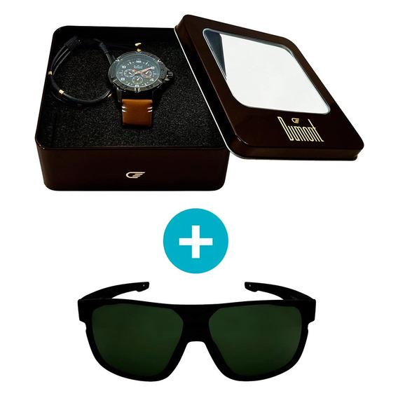 Kit Promocional: Relógio Dumont Masculino Analógico, Caixa 5
