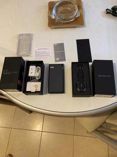Vendo Lg G8s + Lg Watch W7 Garantía! Líquido!