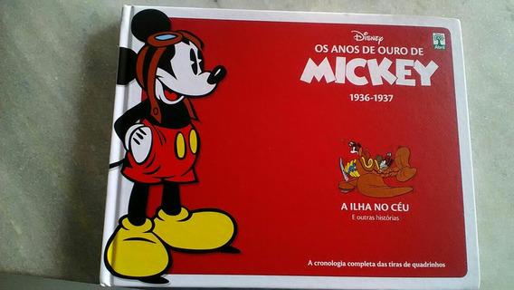 Livro Os Anos De Ouro De Mickey Hq