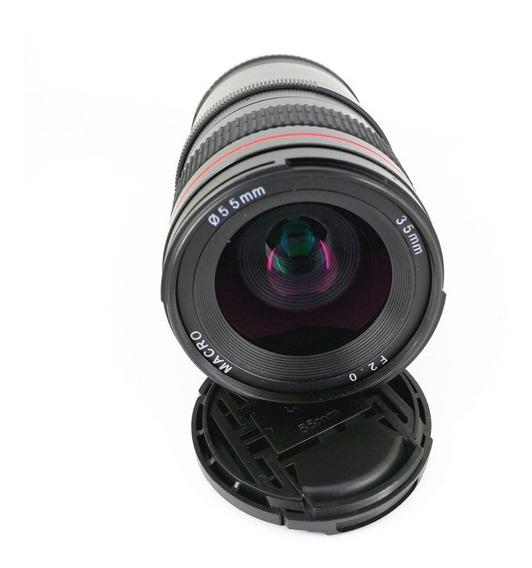 Lente 35mm F/2 Sony E-mount Full Frame A7s A7 A6300 A6000