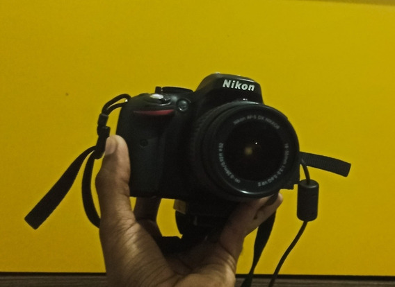 Câmera Nikon Profissional D5200