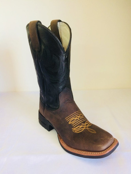 Bota Brazil Country 3328x3 Crazy Horse Café/np Black