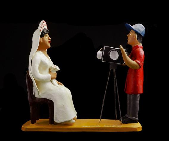 Escultura Do Mestre Manuel Eudócio: A Foto Da Noiva