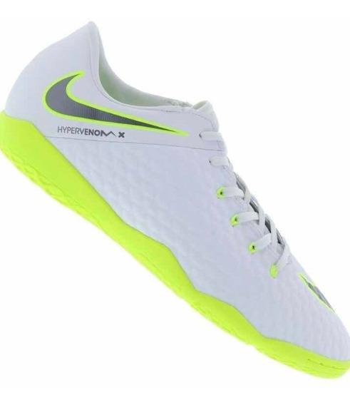 Tenis Chuteira Nike Futsal Hypervenom Original