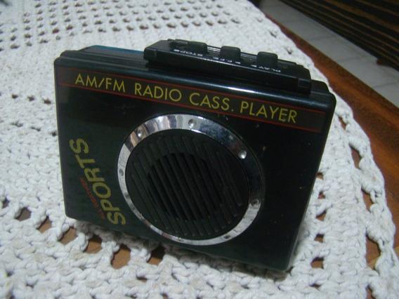 Rádio Am Fm Cass Player Sports All Weather