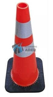 Cono De Seguridad Reflectivo Vial 30cm 1kg Reforzado