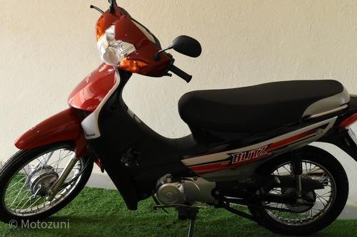 Motomel Blitz V8 110 Base Motozuni Exclusivo