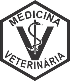 Adesivo Medicina Veterinária - 14x12cm - Frete Fixo - Carro