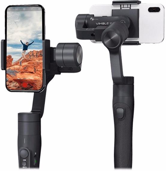 Gimbal Estabilizador Para Celular Vimble 2 Feiyutech 3-axis Bluetooth Zoom Vlog Selfie Lançamento Feiyu Original + Tripé