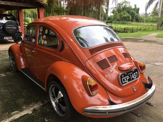 Volkswagen Fusca 1500 Placa Pre