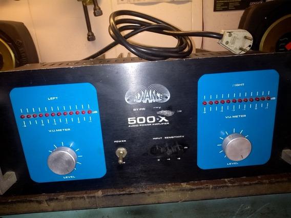 Amplificador Potência Advance 500x Original