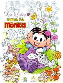 Turma Da Mônica - Livro De Colorir Mauricio Sousa