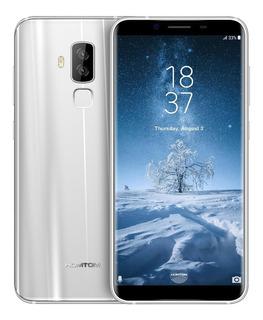 Homtom S8 Smartphone 4g Fdd-lte Celular Plateado Movil