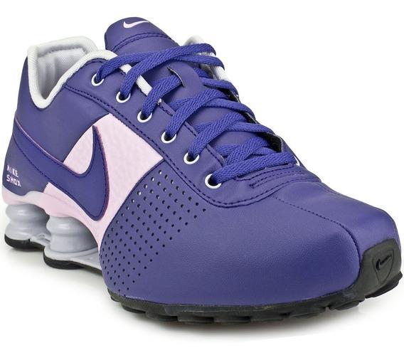 Tênis Nike Shox Deliver W 317549-501 Roxo