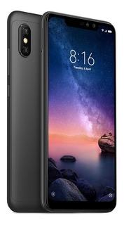 Xiaomi Redmi Note 6pro Negro +case+glass 64/4gb Somos Tienda