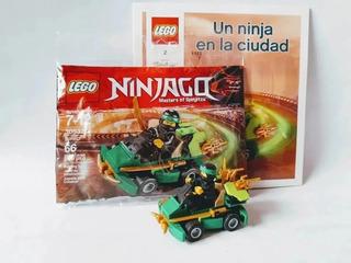 Lego Ninjago Personaje Vehiculo + Cuento 30532