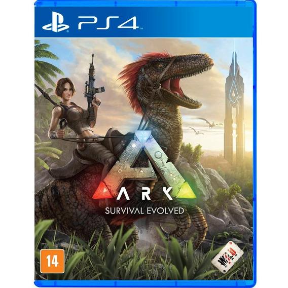 Ark Survival Evolved Ps4 Jogo Mídia Física Português Lacrado