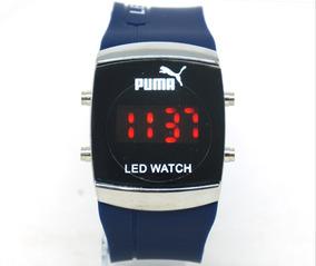01 Relógio Digital Pulseira Em Silicone Escolha O Seu...