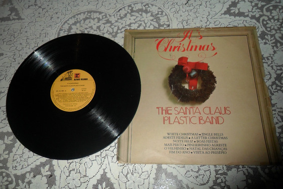 Lp Vinil.as Cristmas.the Santa Claus Plastic Band. 1977