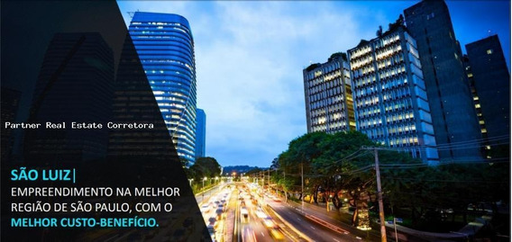 Laje Corporativa Para Locação Em São Paulo, Itaim Bibi, 6 Banheiros, 15 Vagas - 2584a