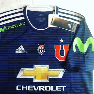 Camisa Universidad De Chile Lau 2018 Tam: P (72x48)