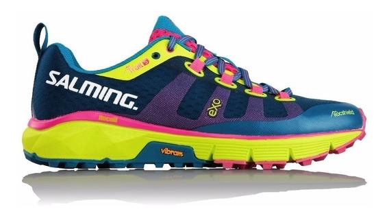 Zapatillas Salming Trail Running 5 Mujer Correr Proam