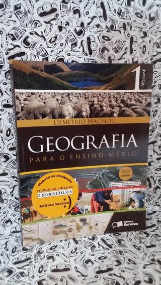 Livro Geografia Para O Ensino Medio Magnoli, Demetrio