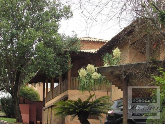 Sobrado Para Venda E Locação, Condomínio Village Vert Em Sorocaba-sp, 6 Vagas De Garagem, 5 Suítes, Área Construída 1500m². - So0068