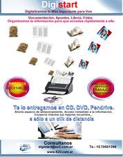 Digitalización De Documentos, Libros, Textos, Fotos, Etc.