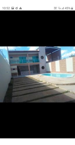 Casa  Com Piscina Em Arapiraca, Apenas R$ 170.000