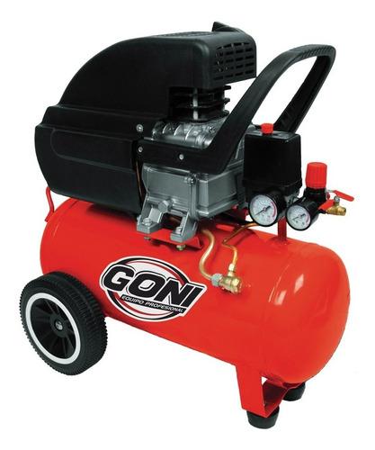 Compresor Goni De 3.5 Hp Con Tanque De 28 Lts. Goni Gon975