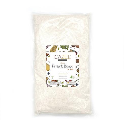 Imagen 1 de 2 de Pimienta Blanca Molida En Polvo Premium 1kg