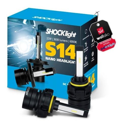 Imagem 1 de 7 de Lâmpada Led Nano Shocklight S14 H1 H3 H7 H11 H16 H27 Hb3 Hb4